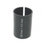 M:Part Threadless Shim Stem Adapter 1-18in 28.6mm - 1in25.4mm - Black , 28.6-25.4