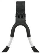 Hebie 0690 NL E Two-Legged kickstand 70cm Black / Silver