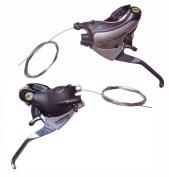 SHIMANO Bike/Bicycle BRAKE/GEAR SHIFTERS 21 speed V-BRAKE LEVER ST-EF29/ST-EF35
