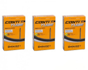 3 x Continental Race Bike Inner Tubes 28 (700c) x 20-25c 80mm Long Valve Presta