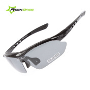 ROCKBROS Outdoor Sunglasses Pro Polarised Sunglasses Eyeware Goggles 100% UVA UVB Eye Protection Glasses 5 Lens & Myopia Eye Frame & Pouch & Case / Windproof Dust-proof anti-shock Anti-Sand For Outdoor Sports MTB Bike Cycling Trekking Casual Driving Hi ..
