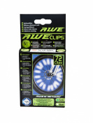AWE® AWEBrightTM 3M Scotchlite 6cm 360° Protection Reflective Spoke Clips 72pcs Conforms To BS 6102/2,TUV and StVZO German Road Traffic Approvals FREE 5 Year Guarantee!
