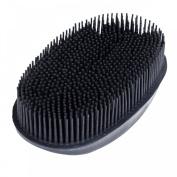 Horze Gentle Face Brush, Black