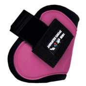 HKM Horse Riding Shock Absorbing Show Jumping Competition Injury Protection Tendon Fetlock Boots Set