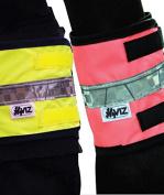 Hi Viz Leg Bands, Pink, Pair