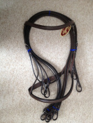 New Kincade Double/ Show Weymouth Bridle with Reins