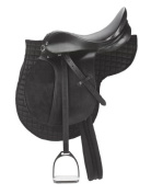 Kerbl 32196 Pony Saddle Set - Black