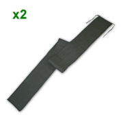 2 rod sleeves for 3.7m/2 piece carp rod
