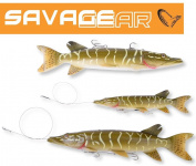Savage Gear Line Thru 3D Pike 20cm & 30cm