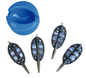 Match Fishing 4x Feeder & Mould Set - TMMFS
