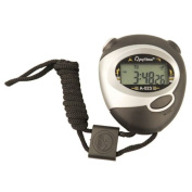 TekBox® Digital Handheld Sports Stopwatch / Sport Stop Watch Time Clock Alarm Counter Timer - With Neck Strap