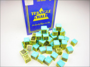 24 pcs Green TRIANGLE Snooker & Pool Chalk - Worlds Most Popular Chalk!