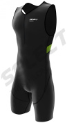 Select Men Triathlon Suit Cycling Running Compression Tri Suit CoolMax Padding