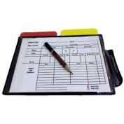 Referee Cards Volleyball Football Sport Wallet Score Notebook Pencil Soccer Set