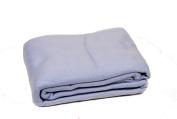 Comptoir du Linge POL22CIE Fleece Blanket 220 x 240 cm Sky Blue