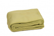 Comptoir du Linge POL18VER Fleece Blanket 220 x 180 cm Almond Green