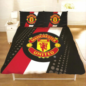 Manchester United Stripe Double Duvet