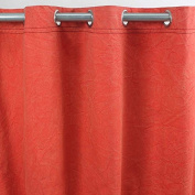 City Canvas Cotton Curtain 140 x 250 cm-Red-Style USA Monbeaurideau USA: