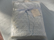 Baby Soft Velour Bubble Wrap/ Blanket Colour Blue