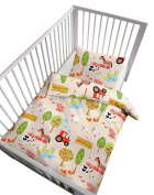 Baby Butt 3-pc saving pack cotton flannel creme size 100x135 cm