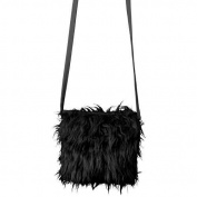 Orlob Shoulder Bag Plush, Black