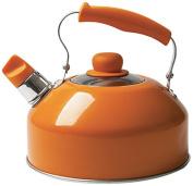 """Excèlsa """"Pop Cook"""" Kettle With Whistle 2 Lt. Orange Colour"""