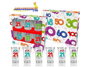 21th BIRTHDAY BALLOONS SERIES SHOT GLASSES - GIFT - PRESENT - PARTY