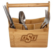 Oklahoma State Bamboo Caddy