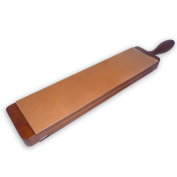 Extra-large double-sided interchangeable magnetic razor strop SUPEX 77 | Supex 77-Paste-it direct from France