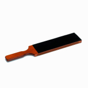 Extra large razor paddle strop in wood and leather direct from France