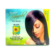 Sazzy Botanicals 3-in-1 No Lye Ultra Conditioning Relaxer Regular