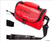 Crimson Red Carry Case Bag for JVC HD Everio Camcorders GZ-HM30SEK Camcorder