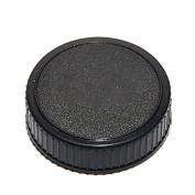 Phot-R LF-4 Plastic Rear Lens Dirt Dust Protection Lens Cap Clip - Compatible with Nikon F Mount Lenses