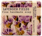 Saltspring Soapworks All Natural Botanical Soap Bar, Lavender Pure, 150ml