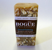 Bogue Milk Soap - No.27 Exfoliating Oatmeal- Gently Scub Your Skin and Decompress with Cedarwood, Lavender, Rosemary and Myrrh