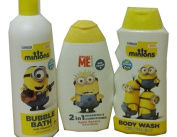 Bundle (3 items) Despicable Me Soap/Body Wash/Shampoo and Conditioner Pack