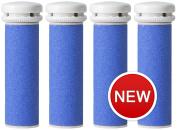 Emjoi Micro-Pedi Callus Remover Refill Rollers (Extra Coarse) - Pack of 4