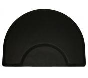 LCL Beauty 2.5cm Thick Professional Half-Round Waterproof Anti-Fatigue Barber Salon Floor Mat