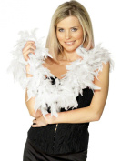 Red Black White Feather Boa 20s 30 Flapper Burlesque Hen Night Party Feather Boa WHITE