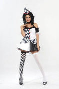 Harlequin Costume - Adult Fancy Dress Costume