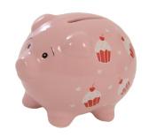 Suki Gifts Cupcake Piggy Bank