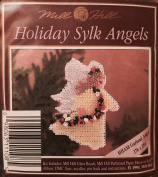 "1995 Mill Hill Holiday Sylk Angel Bead Kit MHAS8 ""Garland Angel"""