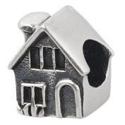 House Home Sweet Home 925 Sterling Silver Bead Fits Pandora Charm Bracelet