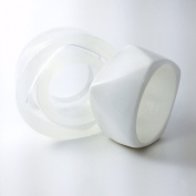 Alamould Moulds Clear Silicone Mould for Smooth Angular Bangle Bracelet