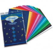 Pacon Spectra Art Tissue, 50 Sheets, 30cm x 46cm , Assorted Colours