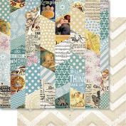 Bella! Baby Boy Double-Sided Cardstock 30cm x 30cm -Montage