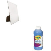 KITCYO543115042GEO26880 - Value Kit - Geographics Easel Backed Board (GEO26880) and. Artista II Washable Tempera Paint