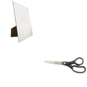KITGEO26880UNV92009 - Value Kit - Geographics Easel Backed Board (GEO26880) and Universal Economy Scissors