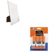 KITEPIE542GEO26880 - Value Kit - Geographics Easel Backed Board (GEO26880) and Elmer's Washable All Purpose School Glue Sticks
