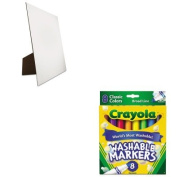 KITCYO587808GEO26880 - Value Kit - Geographics Easel Backed Board (GEO26880) and. Washable Markers